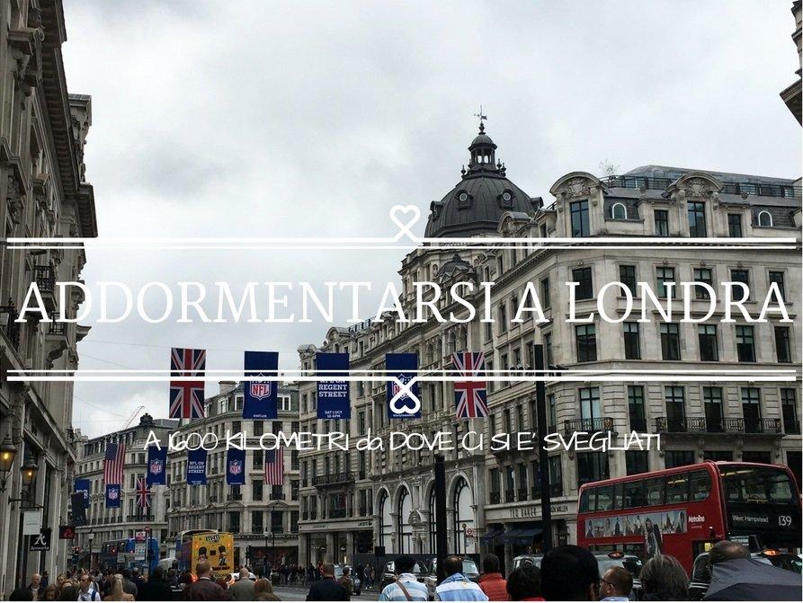Addormentarsi a Londra