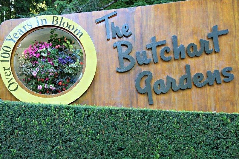 The Butchart Garden a Victoria