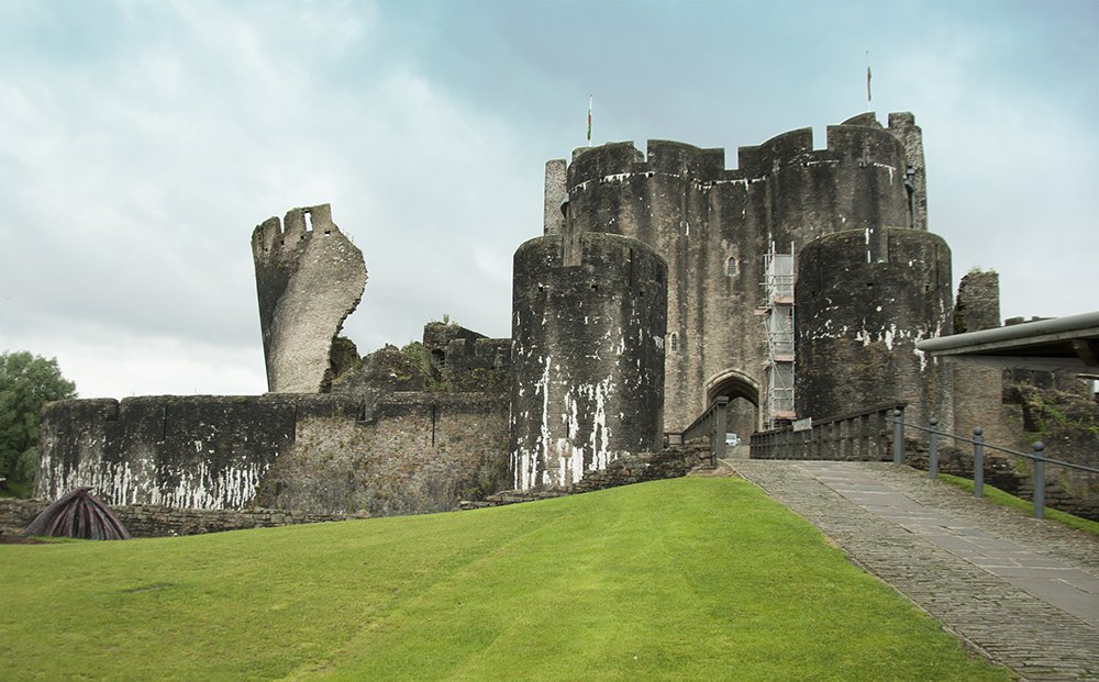 CAerphilly CAstle Galles