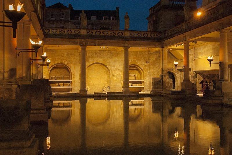 bath roman baths terme romane