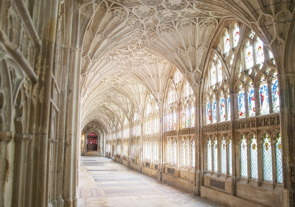 cattedrale gloucester harry potter camera dei segreti