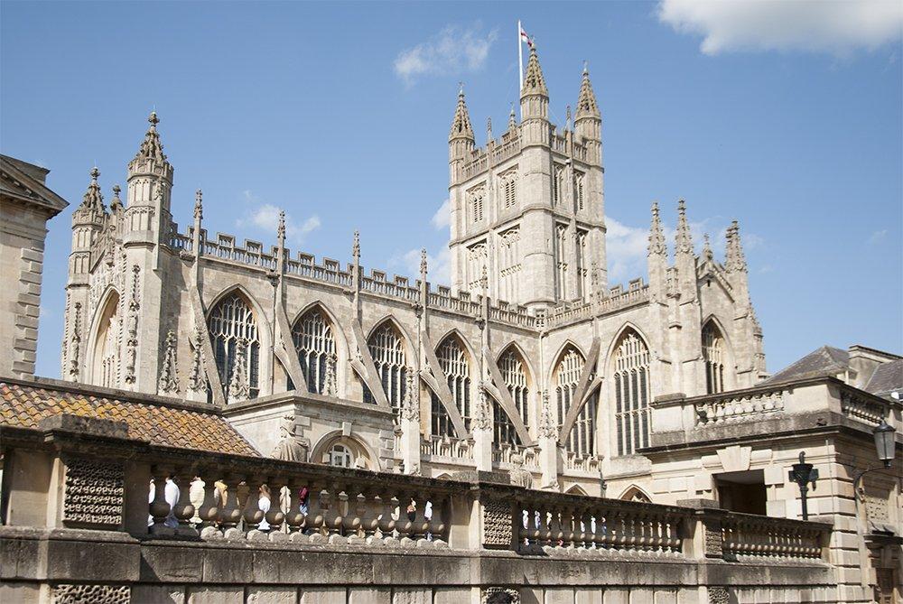 bath cattedrale