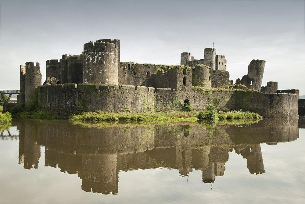 castelli galles caerphilly 1