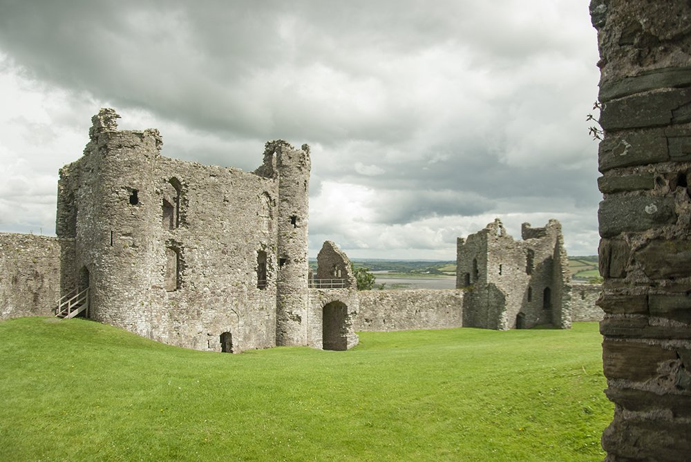 castelli galles llansteffan
