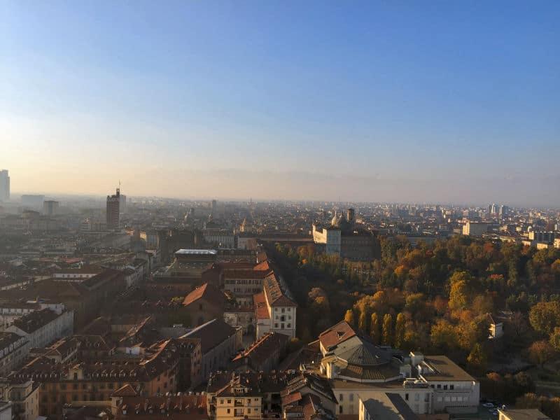 Torino panorama mole antonelliana