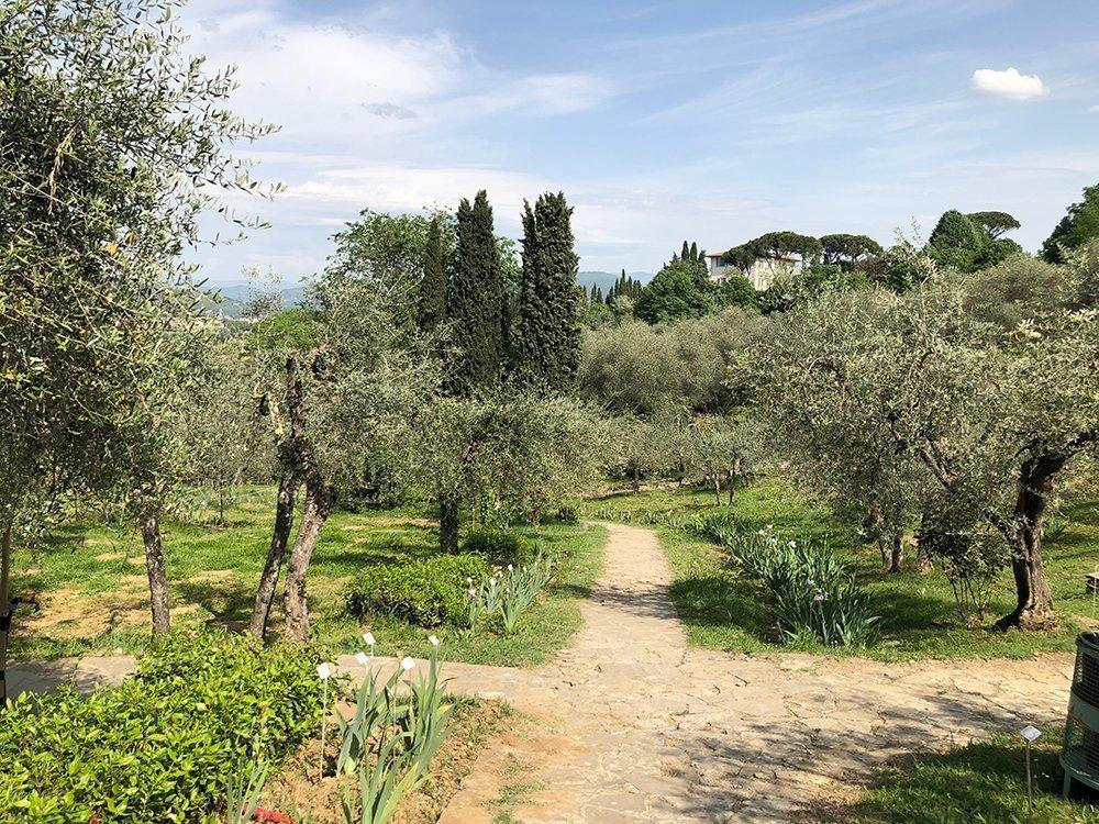 giardini segreti di firenze giardino dell'iris