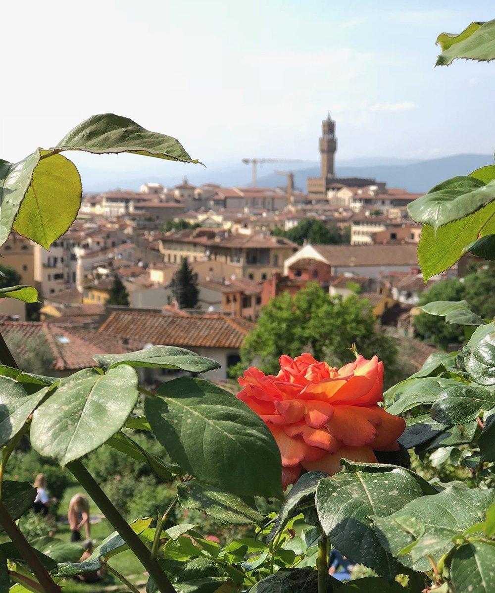 giardini segreti di firenze giardino delle rose