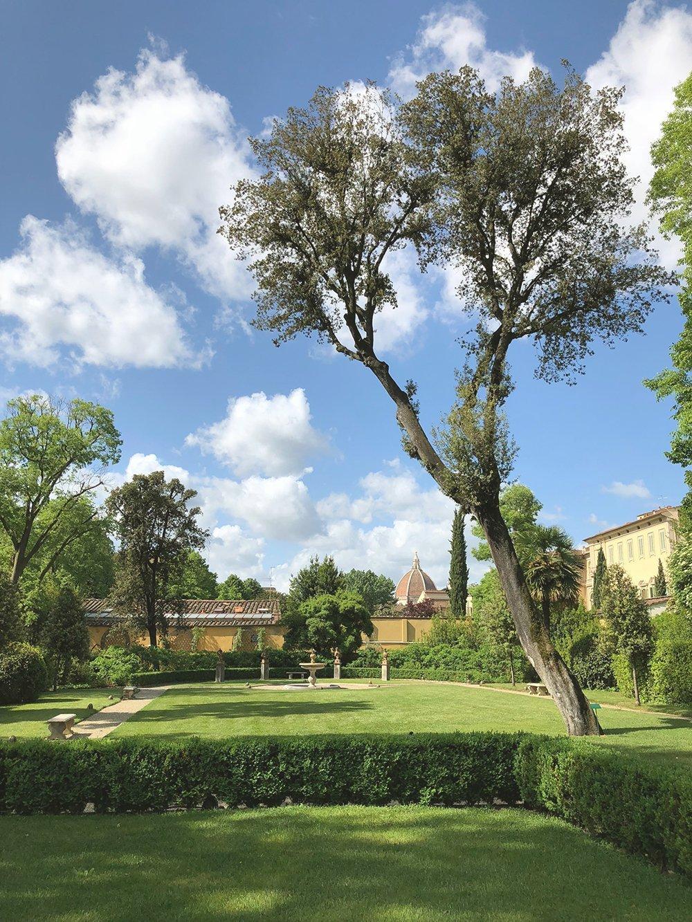 Giardini segreti di firenze giardino della gherardesca
