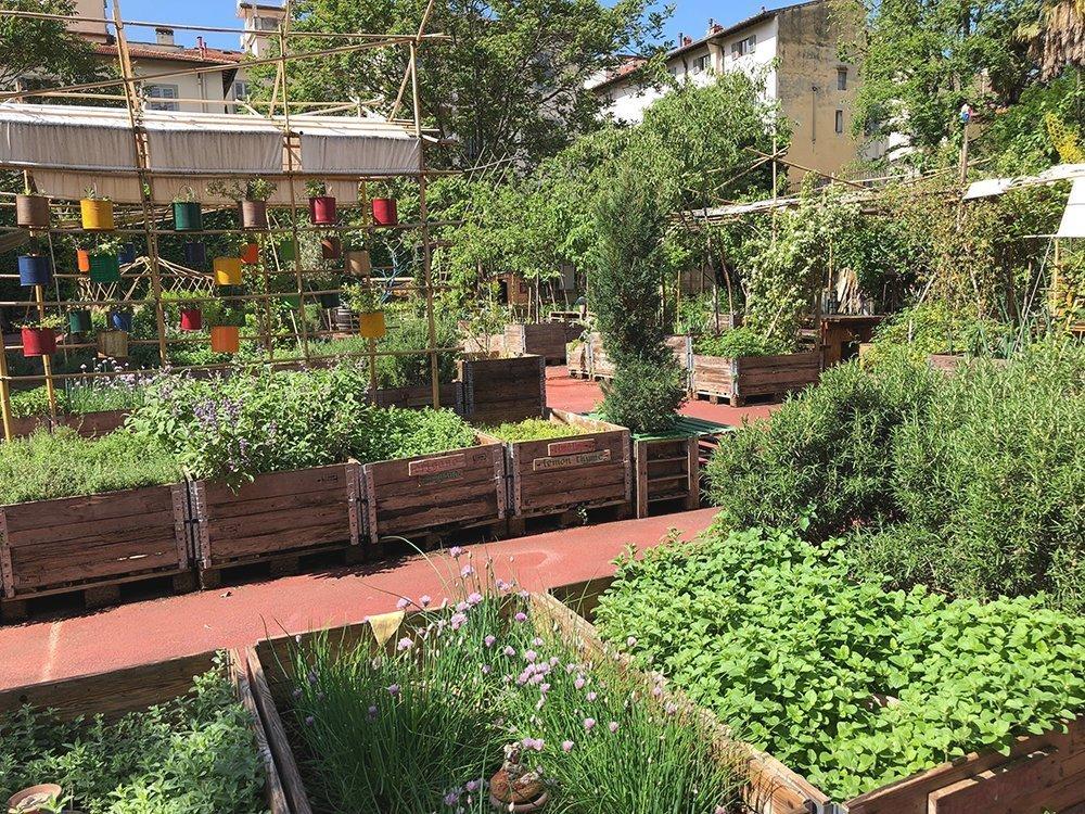 giardini segreti di firenze orti dipinti