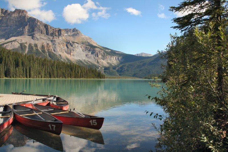 Itinerario in Canada Occidentale