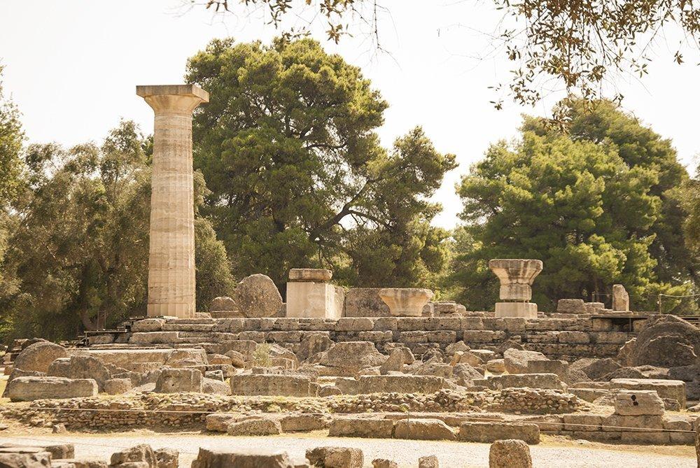 olimpia tempio di zeus olimpo