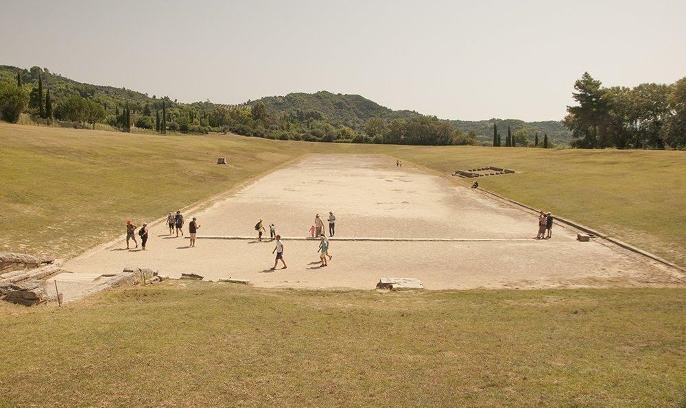 antica olimpia stadio