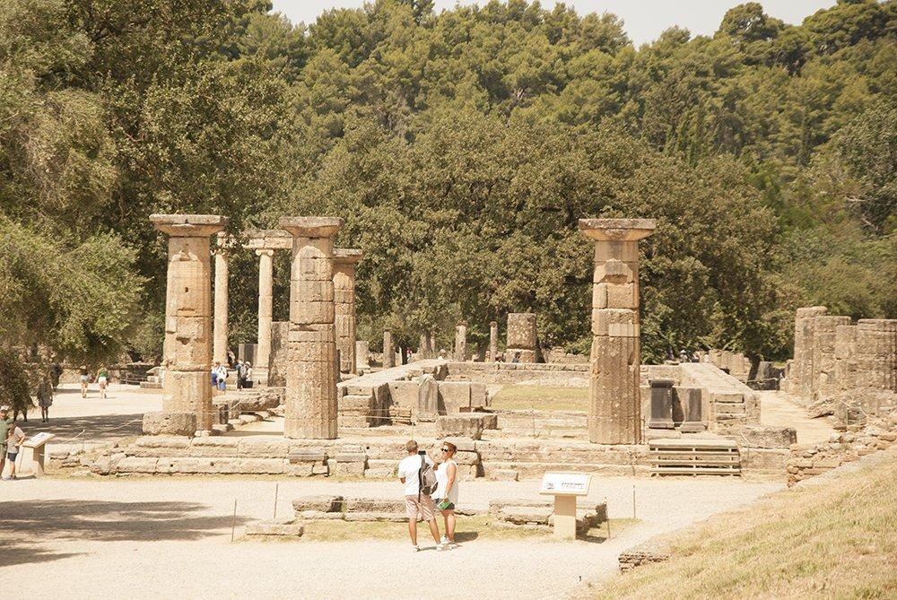olimpia tempio hera