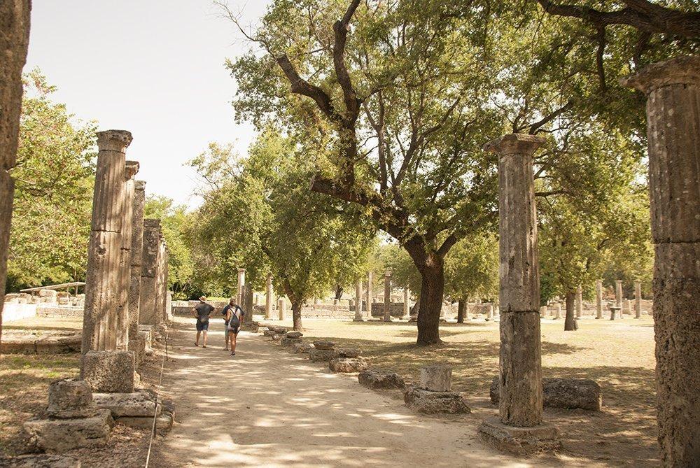 antica olimpia ginnasio