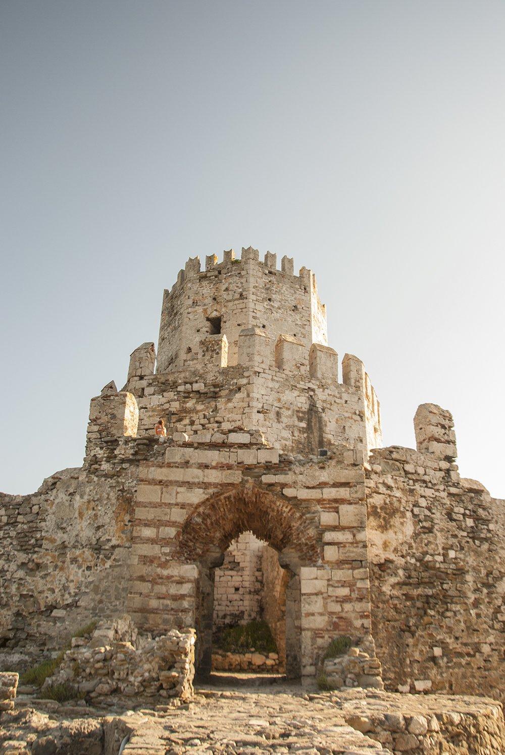 torre di bourzi methoni pilos grecia