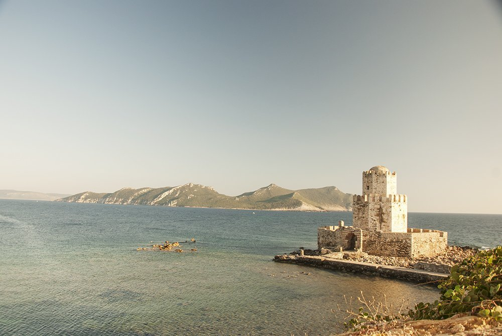 methoni cittadella bourzi pilos peloponneso grecia