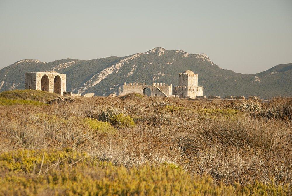 methoni cittadella fortezza
