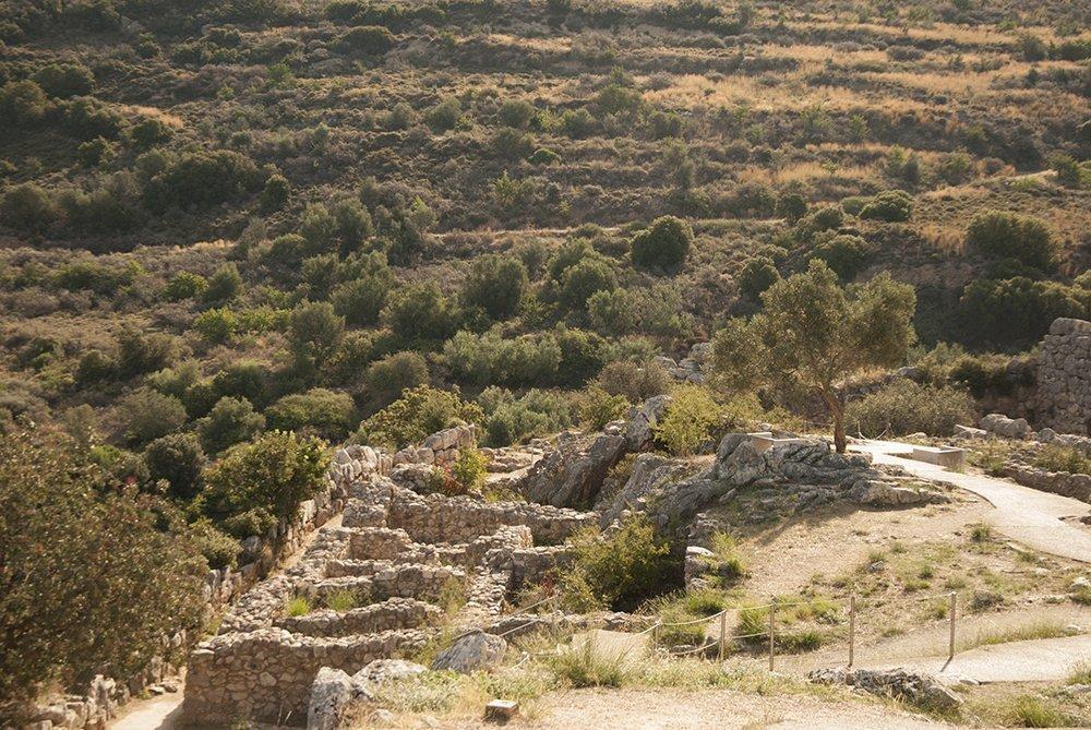 micene palazzo reale agamennone grecia argolide peloponneso