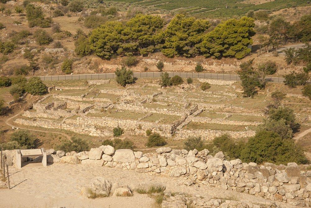 micene argolide peloponneso grecia