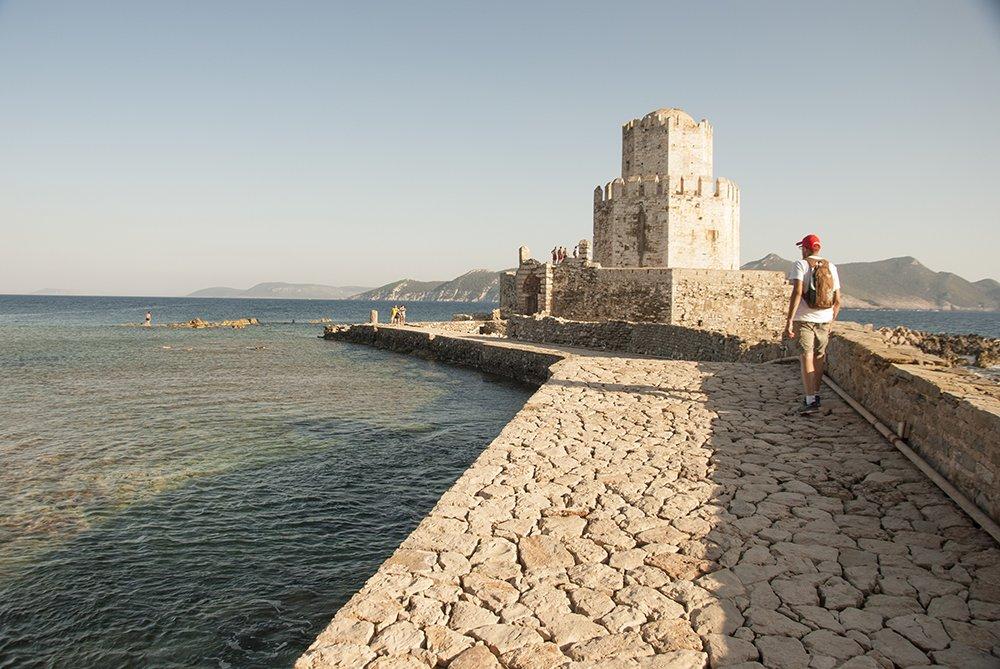 methoni fortezza mare grecia peloponneso pilos