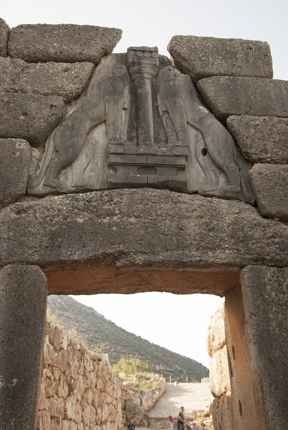 micene grecia porta leoni