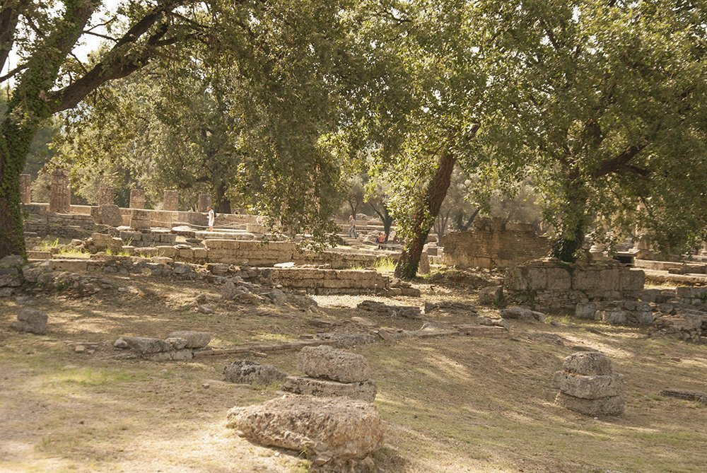 olimpia peloponneso grecia