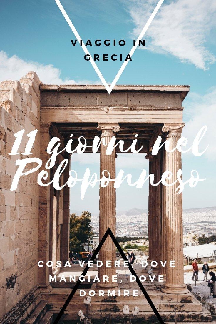 grecia itinerario peloponneso