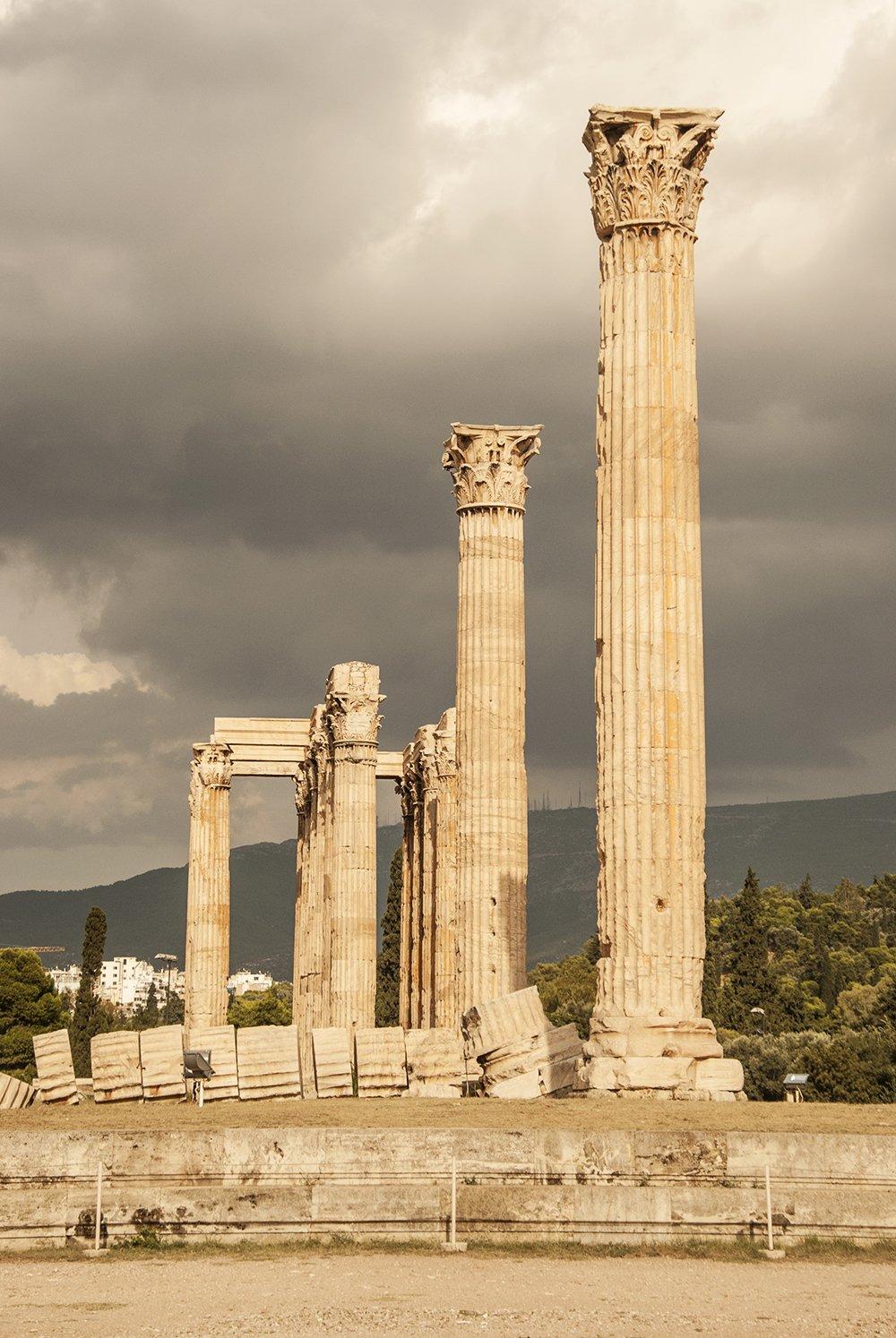 itinerario peloponneso atene olimeion