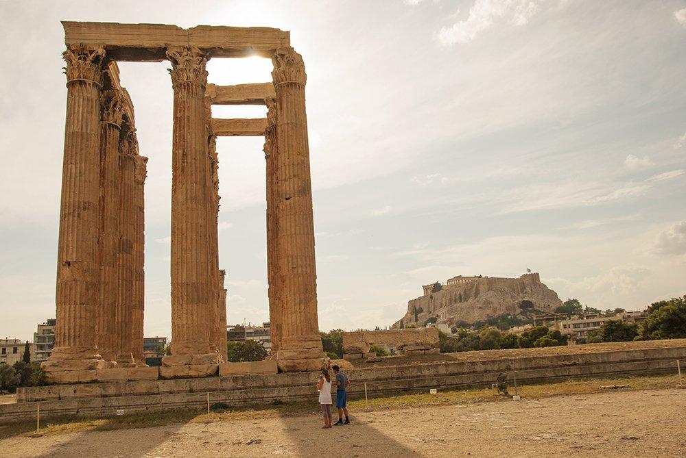 atene itinerario peloponneso