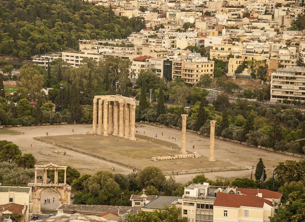 olimpion atene tour grecia peloponneso itinerario