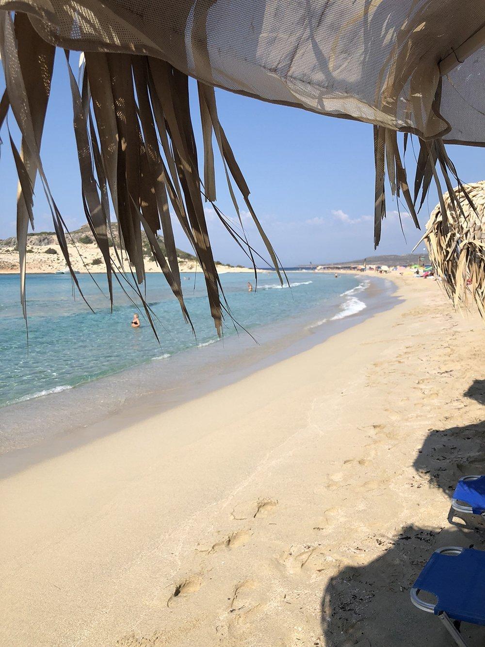 samos beach elafonissos grecia itinerario peloponneso