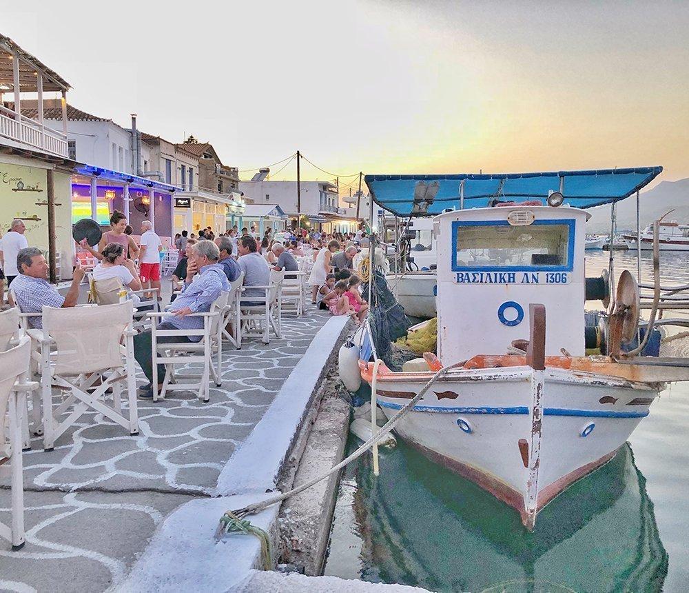 elafonissos porto grecia itinerario peloponneso