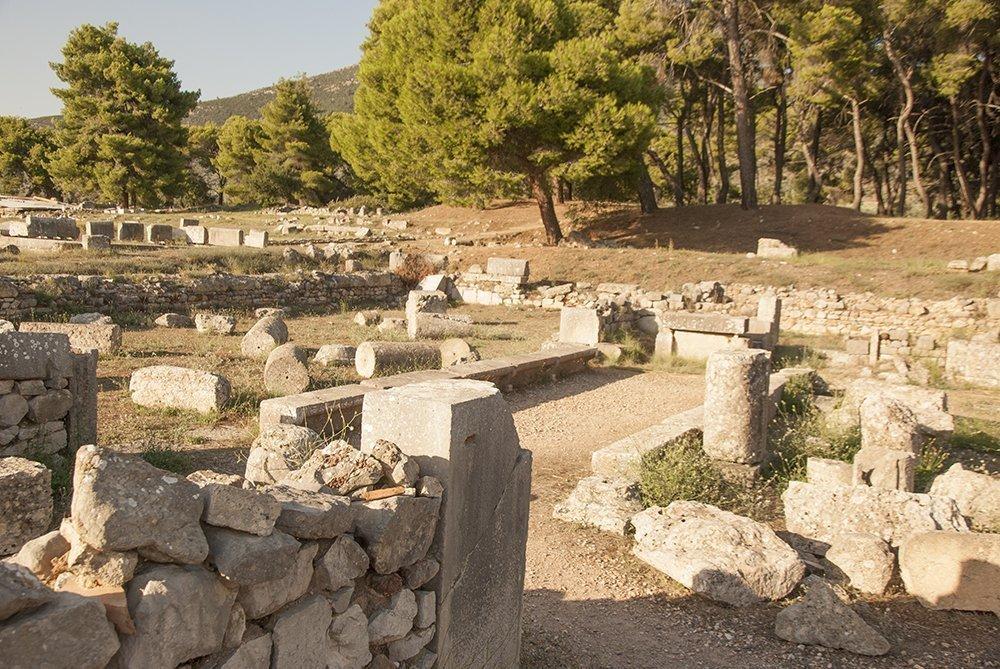 epidauro grecia itinerario peloponneso