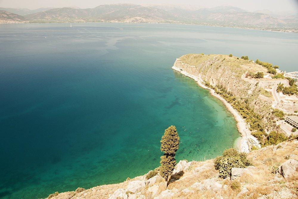 nauplia palamidi grecia itinerario peloponneso