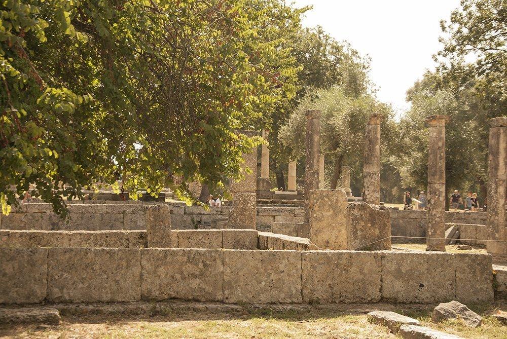 olimpi plympia grecia itinerario peloponneso