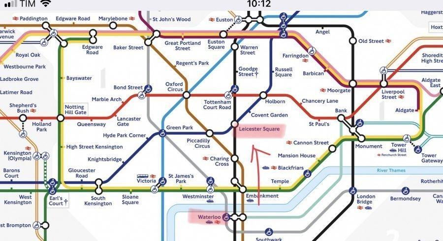metro londra come funziona