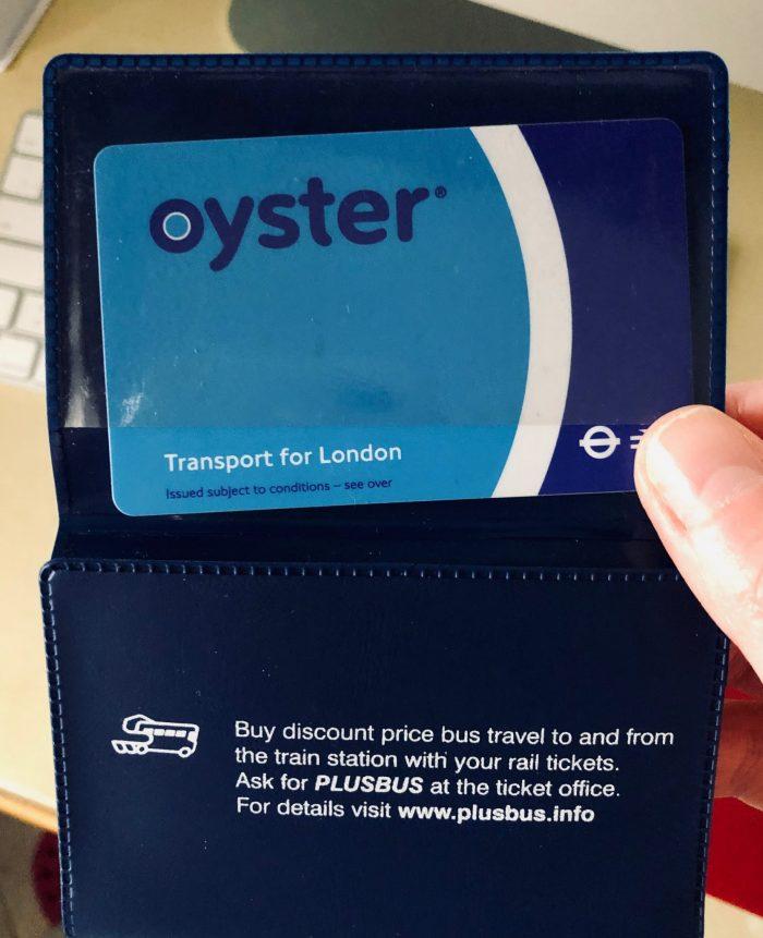 oyster card tube come funziona