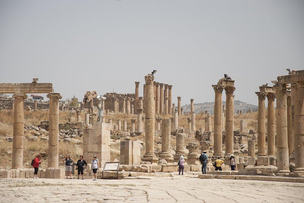 jerash gerasa resti romani