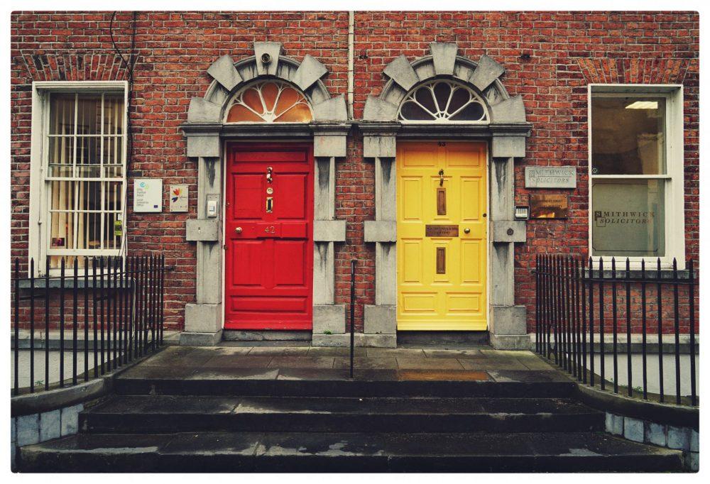 dublino irlanda porte