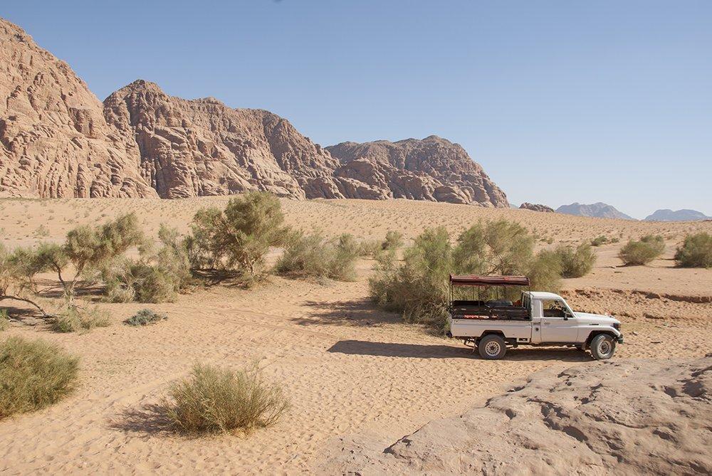 pickup deserto