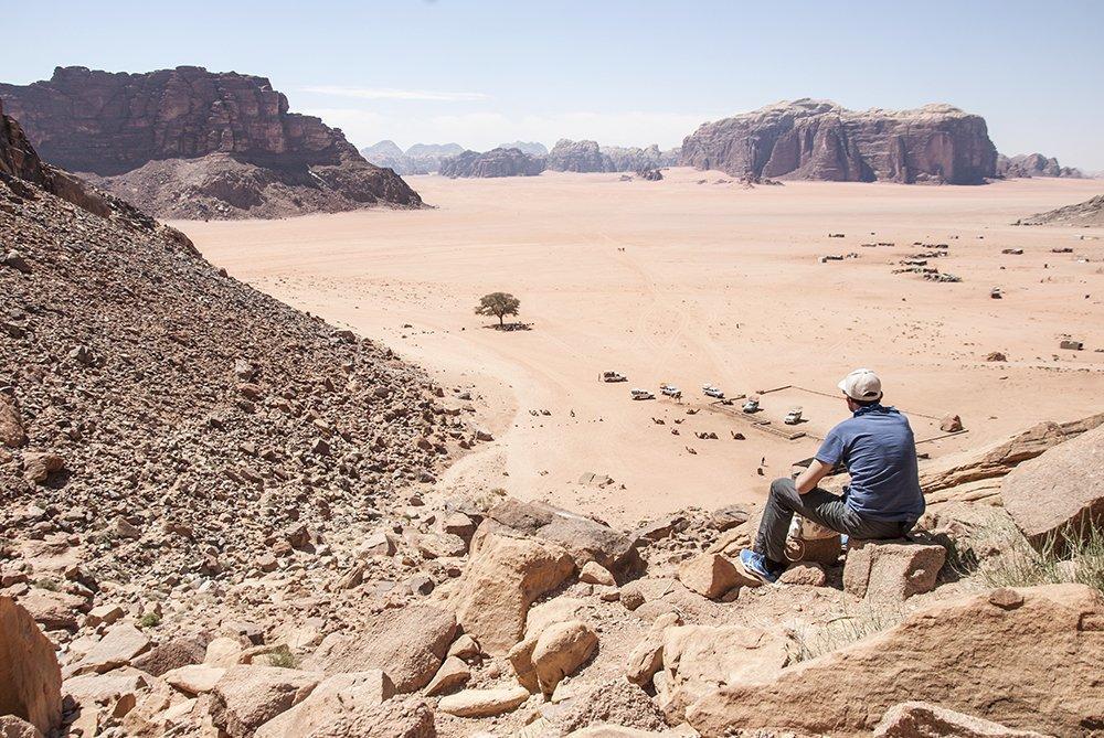 wadi rum giordania deserto
