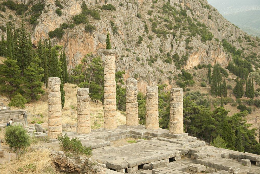 tempio di apollo oracolo