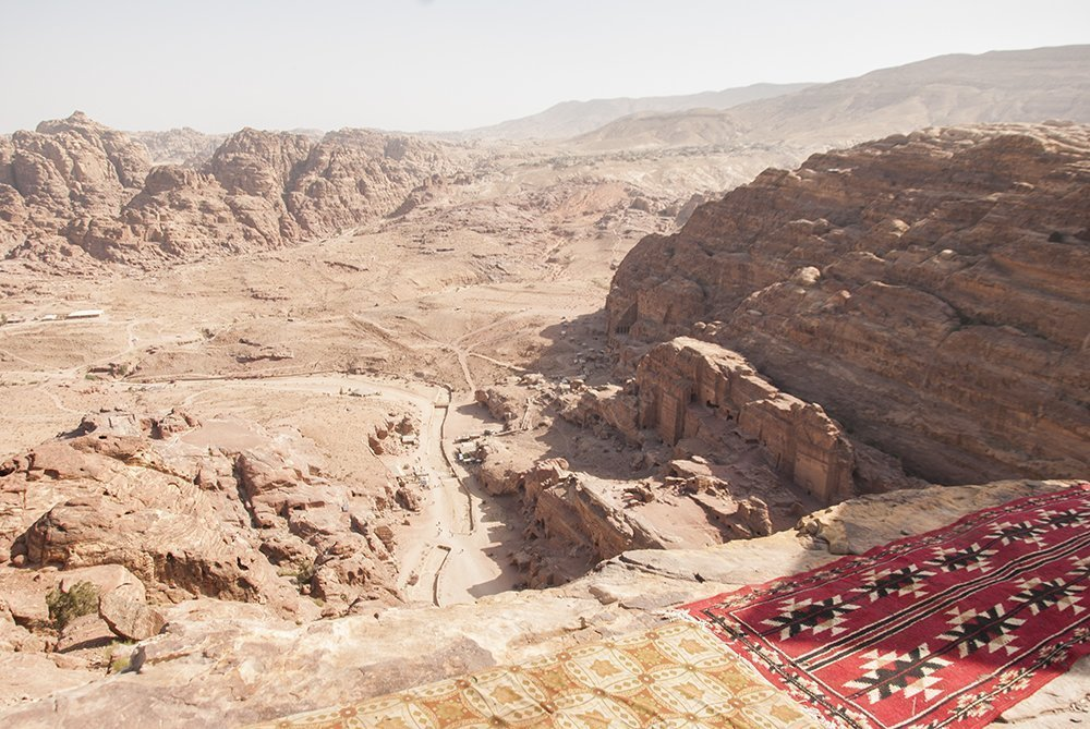 petra panorama altare sacrificio