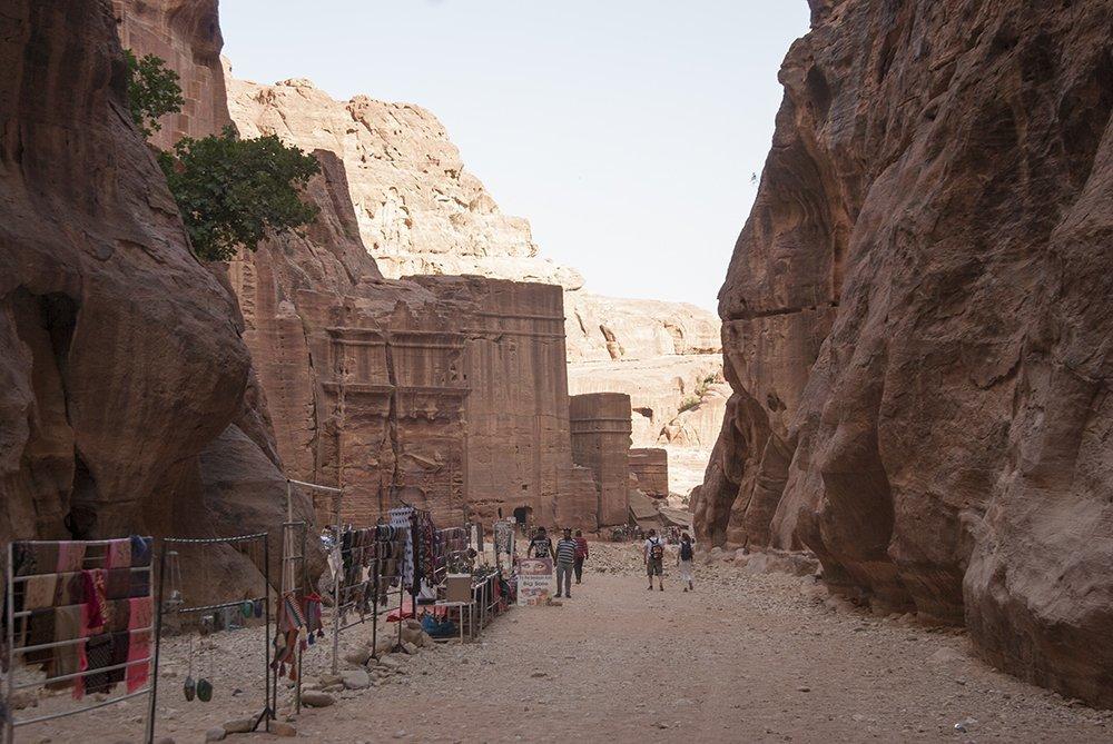 paccottiglia petra giordania nabatei