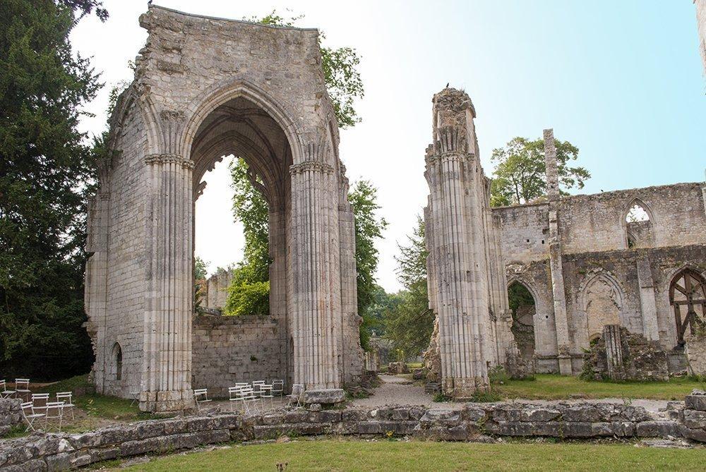 Visitare l'Abbazia di Jumièges, Normandia