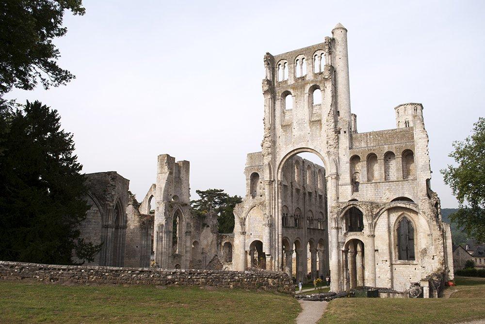 abbazia di jumièges normandia