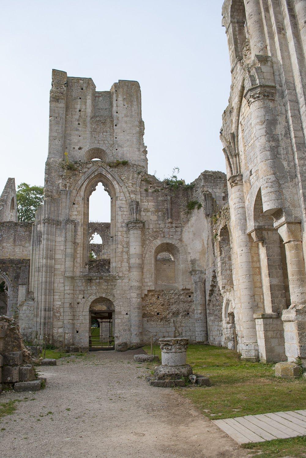 abbazia benedettina di jumièges francia