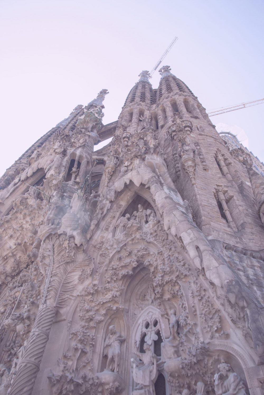 facciata natività sagrada familia antoni gaudì