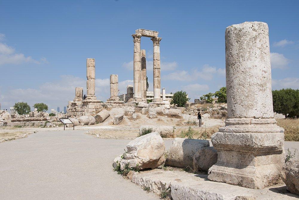 amman tempio ercole cittadella