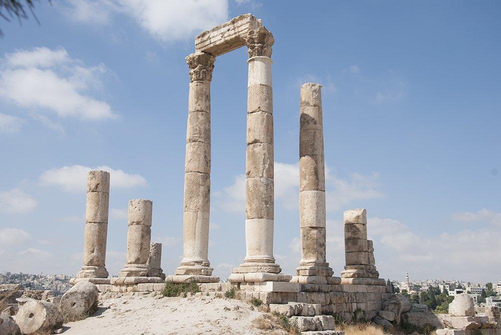 cittadella tempio ercole giordania